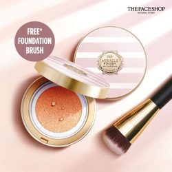[THE FACE SHOP Singapore] Need a makeup cushion that's totally made for Singapore's hot and humid weather?