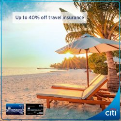 [Citibank ATM] Looking for greater savings for your upcoming travel?