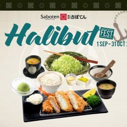 [Saboten] Halibut is prized for its delicate sweet flavour and firm flaky meat.