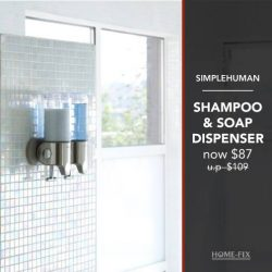 [Home-Fix Singapore] Looking to blend some style with function in your bathroom?