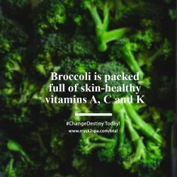 [SK-II Boutique Spa] Our choice of healthy food today is - Broccoli!