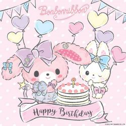 [Sanrio Gift Gate] Happy Birthday to our very lovely Bonbonribbon!