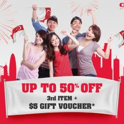 [GNC Live Well Singapore] Enjoy 25% off 1st item, 40% off 2nd item & 50% off 3rd item of your choice* + receive a $5 gift