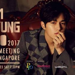 [SISTIC Singapore] Tickets for 2017 Kim Myung Soo Fan Meeting In Singaporegoes on sale on 12 August 2017.