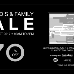 [American Express] See you there at Samsonite's Friends & Family Sale 2017!