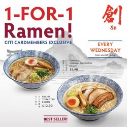 [Velocity] If you are feeling bummed out for missing the 1-for-1 ramen promotion last weekend.