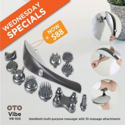 [OTO Bodycare] WEDNESDAY SPECIALS - OTO Vibe at Only $88.