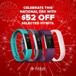 [Harvey Norman] Fitbit National Day promotion at HarveyNormanSG!
