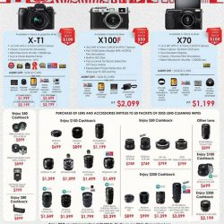 [FUJIFILM] Presenting you Aug promotion, from 1-31 Aug'17 Check out these deals at our authorised dealers today !