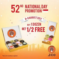 [J.Co Donuts & Coffee] Don't forget about our national day promotion starting tomorrow!