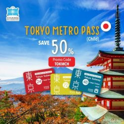 [Changi Recommends] Getting around Tokyo cannot be easier with a Tokyo Metro Pass!