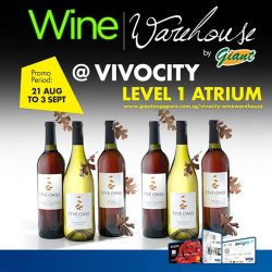 [UOB ATM] Wine-lovers, revel in an array of fine wines at irresistibly low prices brought to you by Wine Warehouse.