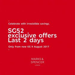 [Marks & Spencer] We've got a special haul of SG52-themed deals for you!