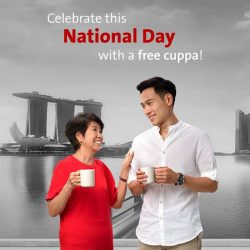 [OCBC ATM] Drop by a Han's or Hanis outlet (except at The Arcade and Springleaf Tower) on National Day to redeem
