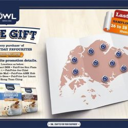 [Owl Café] Last weekend to enjoy our special Everyday Favourites sampling promotion!