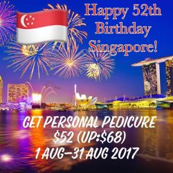 [FE The Nail Lounge] National Day Special!