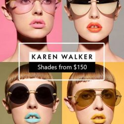 [Atlantic Optical] Karen Walker's eyewear collection is created not only to be wearable but is elegantly styled.