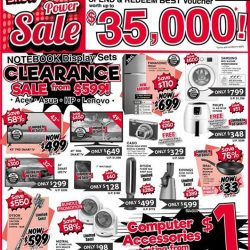 [Best Denki] Notebook Display Sets Clearance SALE from $599!
