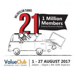 [CHALLENGER MINI] Come join in the celebration to celebrate 21 ValueClub years with exclusive deals and savings for the month of August!