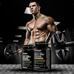 [GNC Live Well Singapore] Introducing GNC Amplified Gold 100% Whey Protein Advanced, the NEW gold standard.