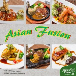 [Jack's Place] Catch this month's delicious Asian Fusion specials before it ends!