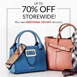 [Reebonz] Don't miss out our End Season Clearance Sale at Suntec City!