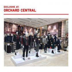 [Uniqlo Singapore] Head down to our Orchard Central flagship store for an exclusive styling showcase of our flannel collection and limited offers.