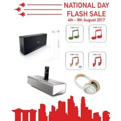 [BOSE] In celebration of our nation's 52nd birthday, enjoy red hot limited offers that is available now till 9 August