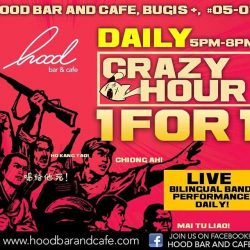 [Hood Bar and Cafe] For all draft beers, housepour spirits and wines!