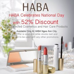 [Shop HABA] Happy 52nd Birthday Singapore!