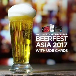 [UOB ATM] With over 500 different beers to choose from, more than 30 live music acts to kick back to, and a