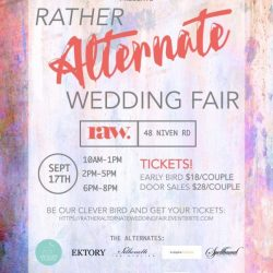 [Silhouette The Atelier] Rather Alternate Wedding Fair is happening on 17 September 2017!
