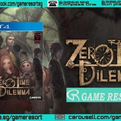 [GAME RESORT] PS4 Zero Time Dilemma,Choice is your only method of salvation and your only means of escape.