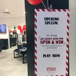 [Fox Fashion Singapore] We're open for business at Tampines Mall 03-20/21!