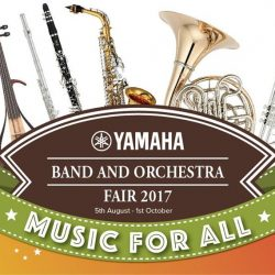 [COOKHOUSE BY KOUFU] Band and Orchestra Fair 2017 is back with exciting offers!