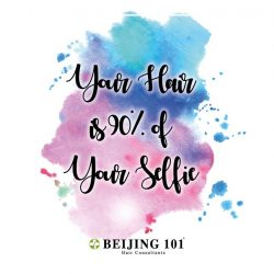 [Beijing 101] Don't you agree that your hair is 90% of your selfie?