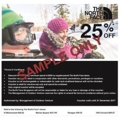 [The North Face] Great savings on your next Winter purchases!