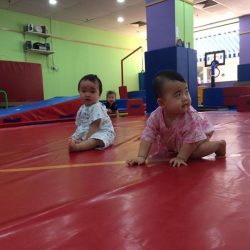 [The Little Gym] Our Birds class ranges from 10months to 18months.