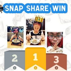 "[MENYA MUSASHI] Congratulations to our Reimen ""SNAP SHARE WIN"" winners!"