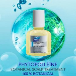 [Beauty By Nature] PHYTOPOLLÉINE BOTANICAL SCALP TREATMENT A potent blend of essential oils that balances the scalp and deters dandruff.