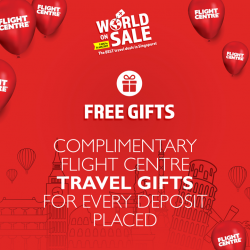 [Flight Centre] Our bi-annual World on Sale is back!