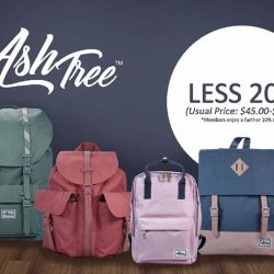 [Precious Thots] Enjoy 20% discount on the new AshTree bags.