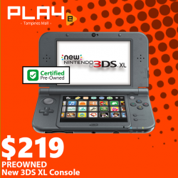 [GAME XTREME] Preowned New 3DS XL Console【PROMO DURATION】 While Stocks Last!