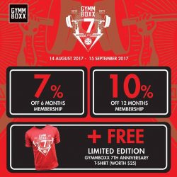 [GYMM BOXX Silver] Get ready for GYMMBOXX 7th Anniversary!