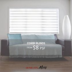 [Home-Fix Singapore] For 1 day only, our unislat blinds will be going at the LOWEST PRICE in town!