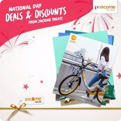 [NTUC Income Insurance] In celebration of Singapore's birthday, we've got a special array of treats for you!