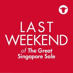 [Sofa Outlet] Last chance to enjoy up to 50%* off storewide as it's the LAST WEEKEND of The Great Singapore Sale.
