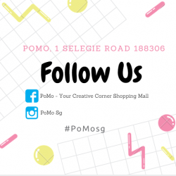 [POMO] Hi Guys, Do follow us on both Facebook and Instagram to receive our latest mall promotions and updates!