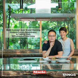 [Tangs] Catch celebrity chefs Sam and Forest Leong at the revamped Miele concept area this Sat!