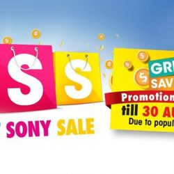 [Sony Singapore] Good news for our fans – we're extending the Great Sony Sale till 30 August 2017.